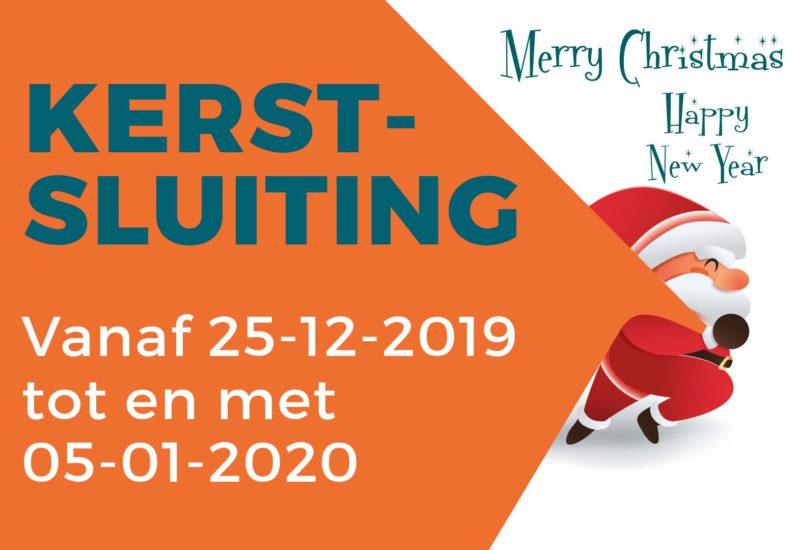 Kerstsluiting 2019